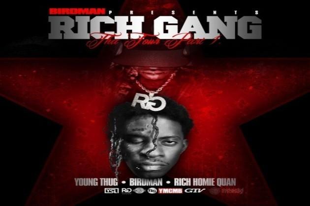 Rich Gang - Tha Tour Pt. 1 (Artwork)
