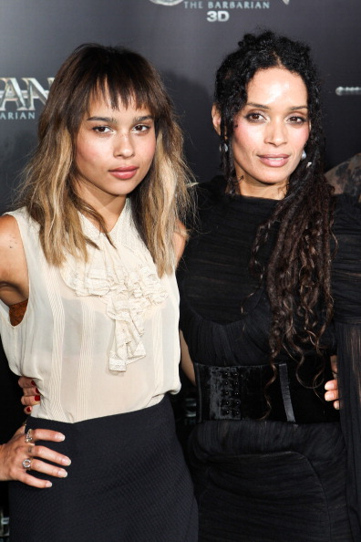 Zoe Kravitz and Lisa Bonet