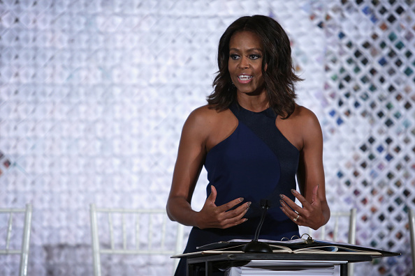 First Lady Michelle Obama Hosts Fashion Education Workshop At The White House
