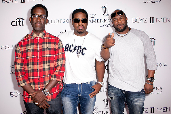 Boyz II Men Performs At The Americana At Brand
