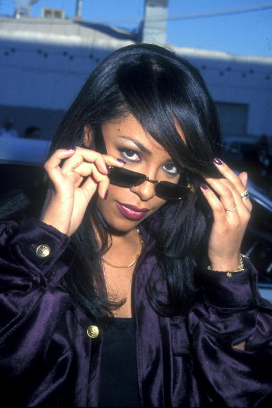 File Photo of Aaliyah