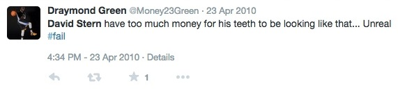 Draymond Green Tweet