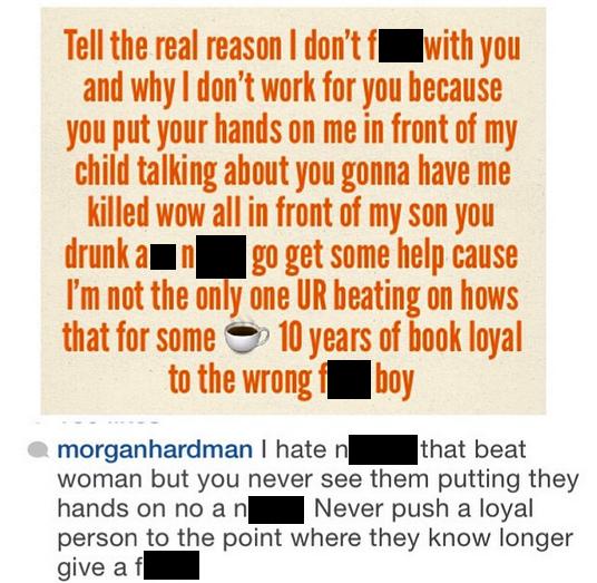 morgan hardman instagram ray j