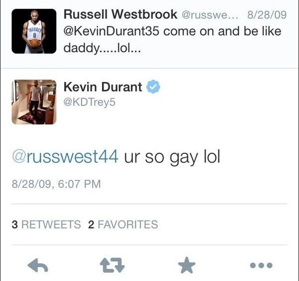 Russ & KD Tweet