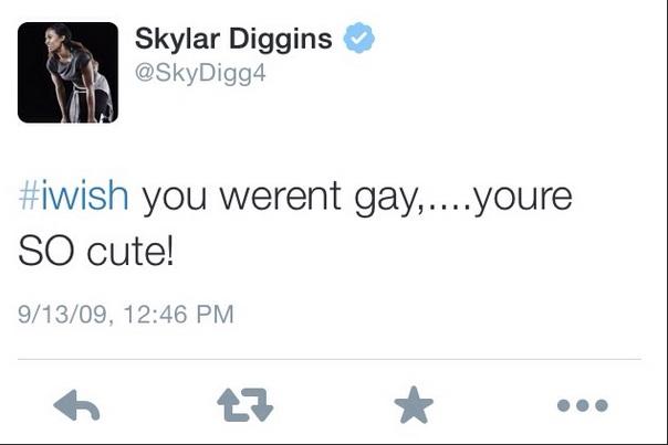 Skylar Diggin Tweet