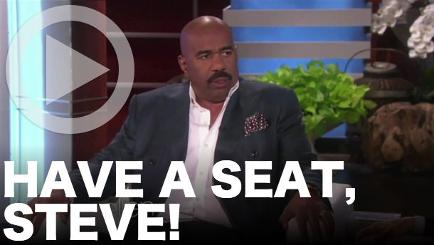 Steve Harvey on Ellen video