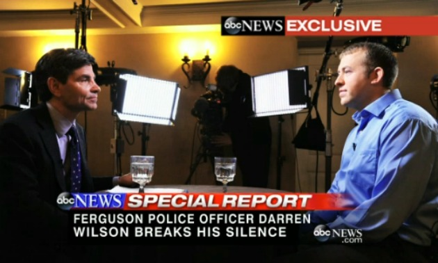 abc george stephanopolous darren wilson