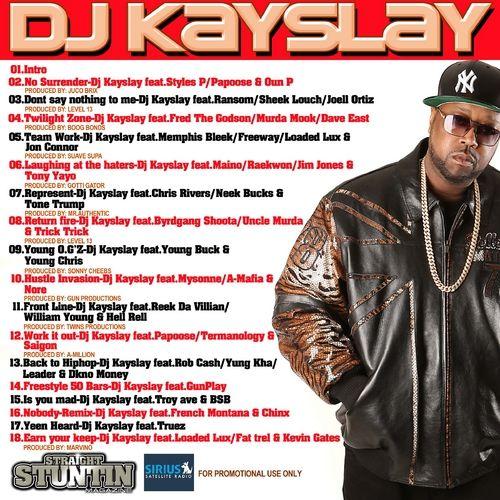 DJ Kay Slay - The Original Man (Artwork)