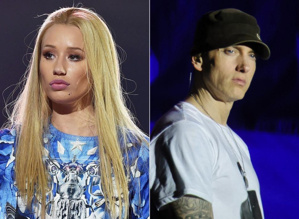 Iggy vs Eminem