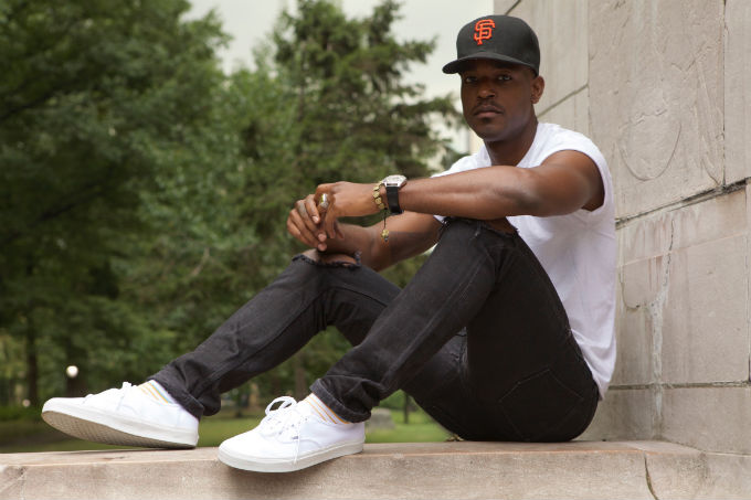 How Luke James Turns Burberry Jeans And Vans Into Black Cool