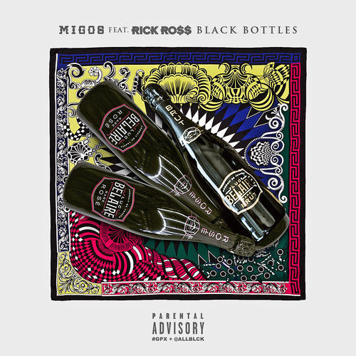 Rick Ross - Black Bottles (Artwork)