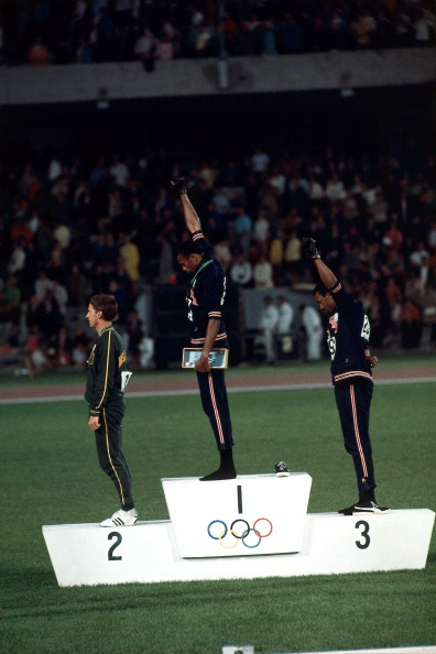 USA Tommie Smith and John Carlos, 1968 Summer Olympics