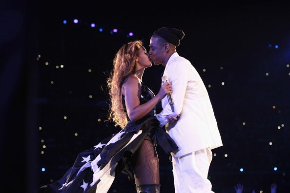"""""""On The Run Tour: Beyonce And Jay-Z"""" - Paris, France - September 12, 2014"""