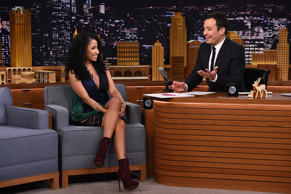 "Nicki Minaj Visits ""The Tonight Show Starring Jimmy Fallon"""