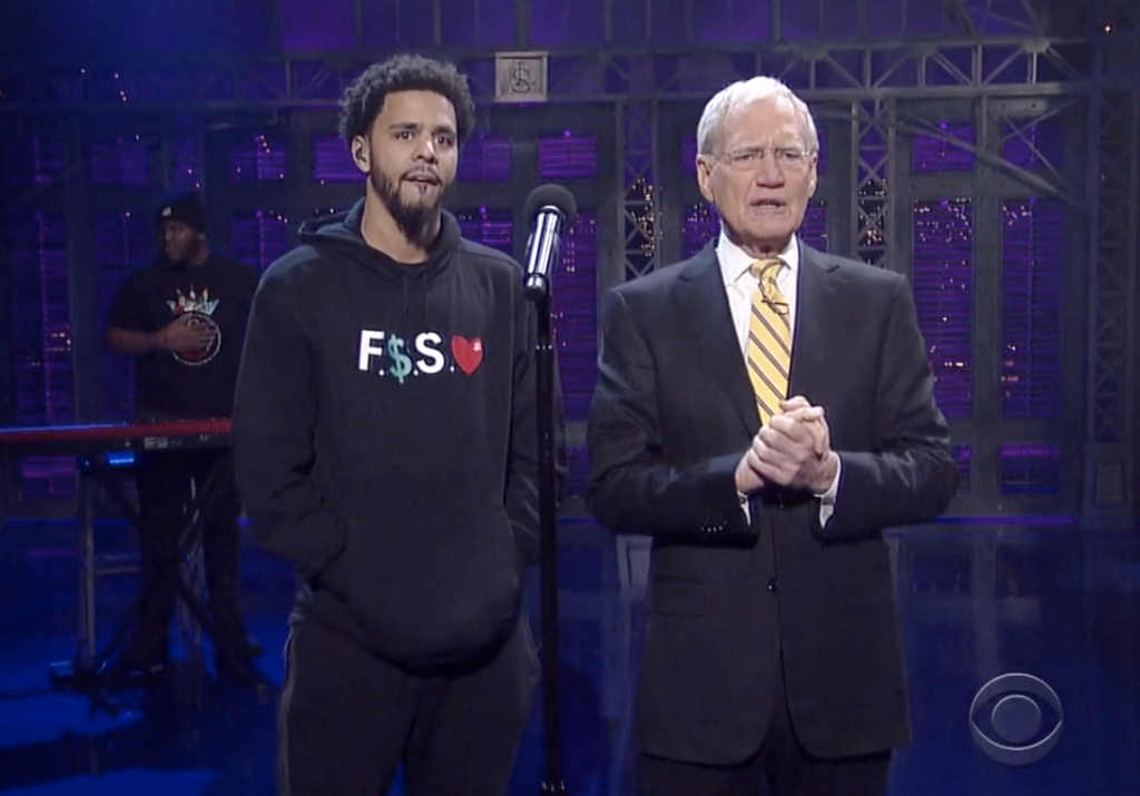 J.Cole On Letterman