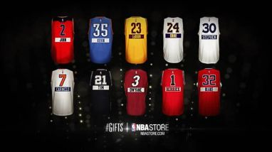 Nba Christmas Schedule.Nba Christmas Gifts Campaign Featuring Christmas Day Jerseys