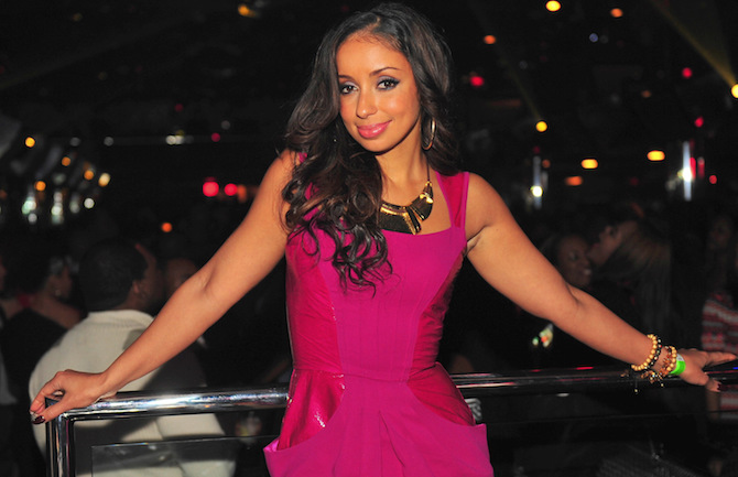 Mya And Terrance J Host At Club Reign
