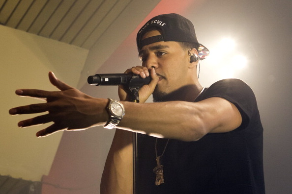 J. Cole Performs In Berlin
