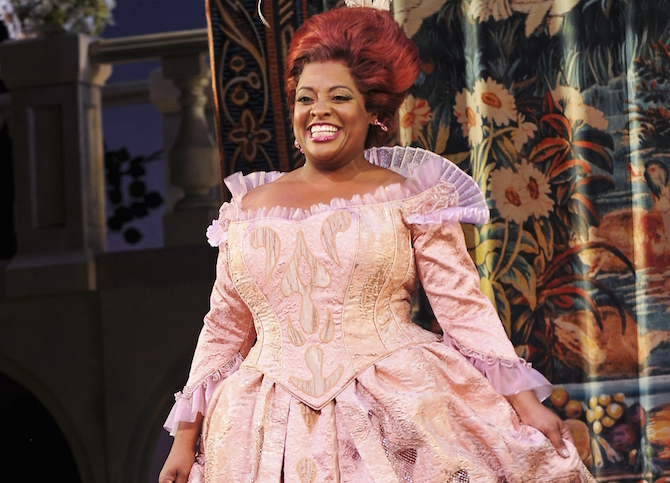 "Keke Palmer And Sherri Shepherd's Debut In ""Cinderella"" On Broadway"