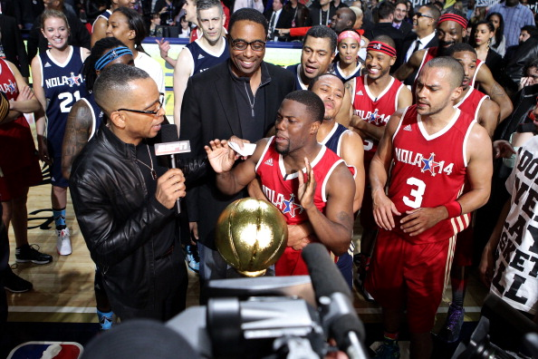 NBA All-Star Celebrity Game 2014