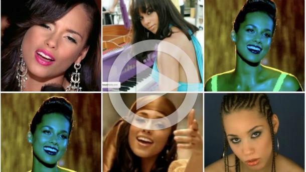 Alicia Keys music videos