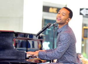 "John Legend Performs On NBC's ""Today"""