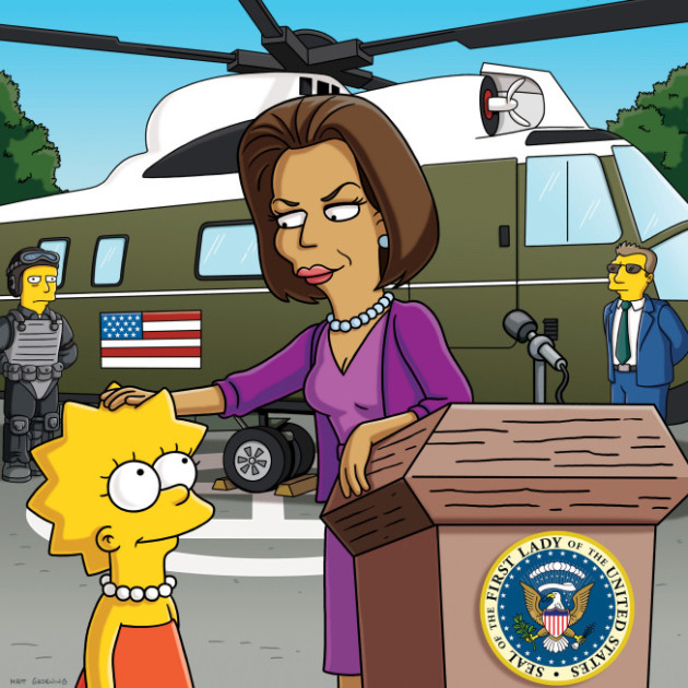michelle-obama-and-lisa-simpson