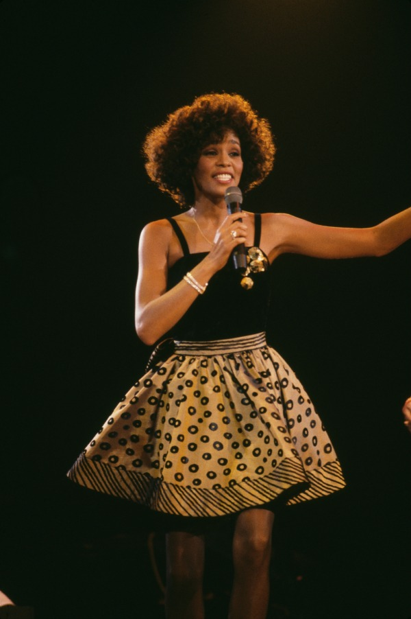 Whitney in concert 1988