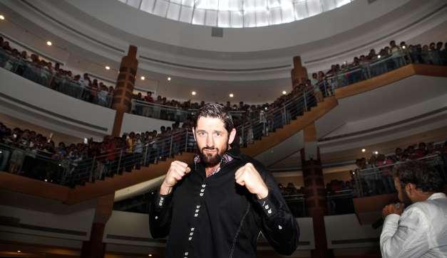 WWE Star 'Bad News' Barrett In Mumbai