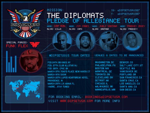 Dipset Tour Dates