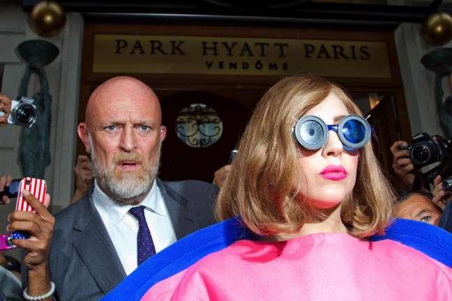 Lady Gaga Sighting In Paris - September 22, 2012