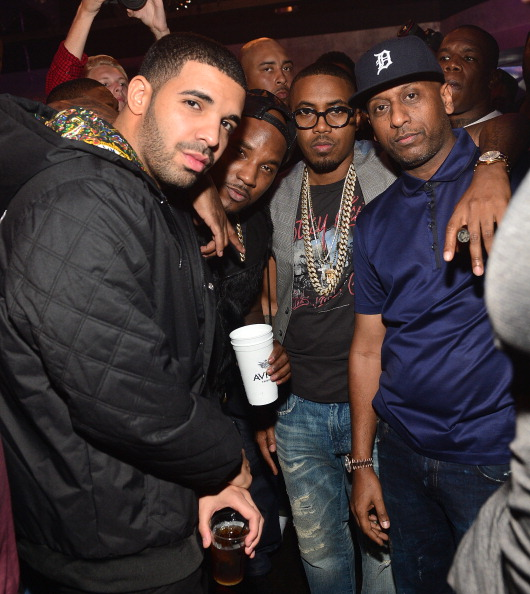 Nas Hosts Party