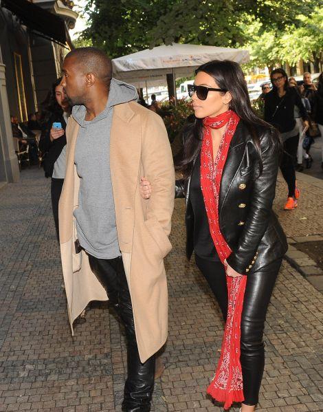 Kanye West Sighting In Prague