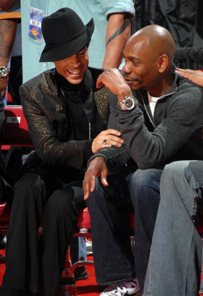 Celebrities At NBA All Star Game