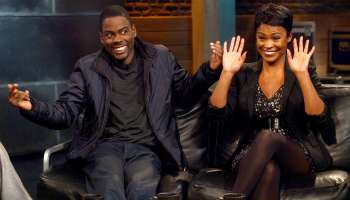Chris Rock And Nia Long Visit fuse TV's 'Hip Hop Shop'