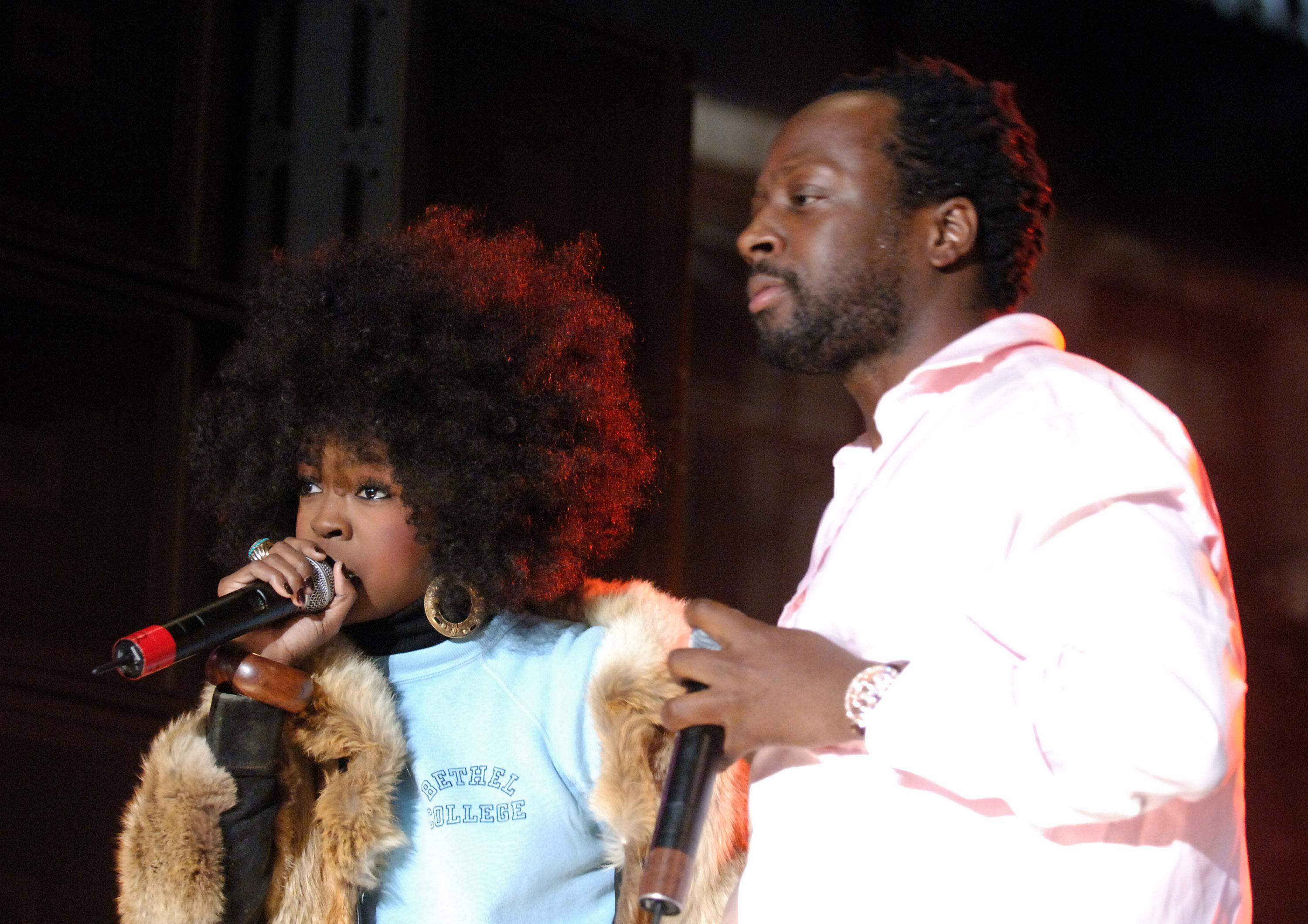 Verizon Wireless V CAST Reunites the Fugees With Outdoor Concert on Hollywood and Vine