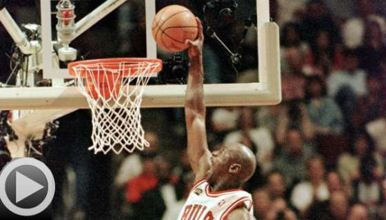 Happy 52nd, Mike! Jordan's Greatest Dunks of All-Time