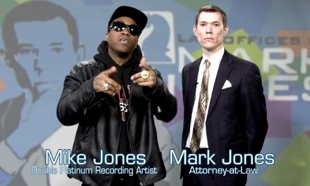 mike jones commercial