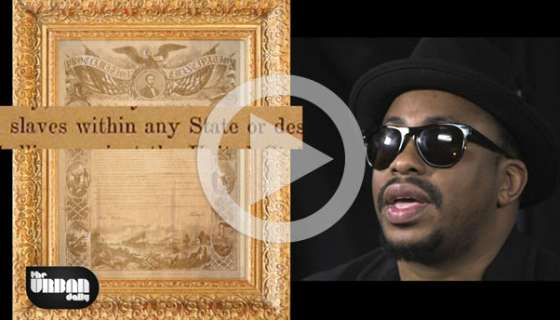 Raheem DeVaughn Recites The Emancipation Proclamation 152 Years Later, And It's Incredible!