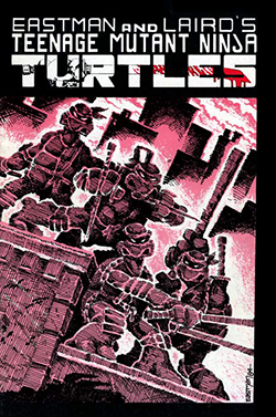 TMNT comic cover