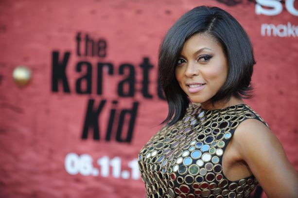 Cast member Taraji P. Henson arrives fo