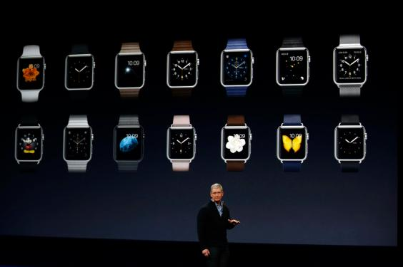 Apple Debuts Apple Watch At Event