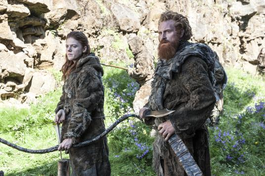 Rose Leslie Kristofer Hivju - Ygritte and Tormund