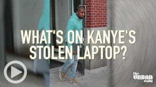 Kanye West laptop