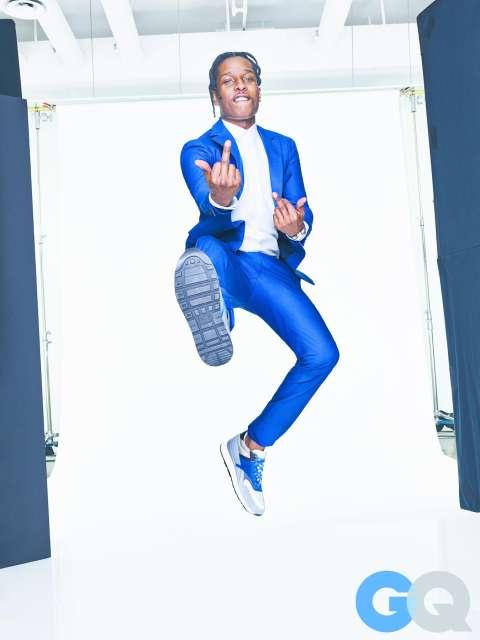 A$AP Rocky In GQ