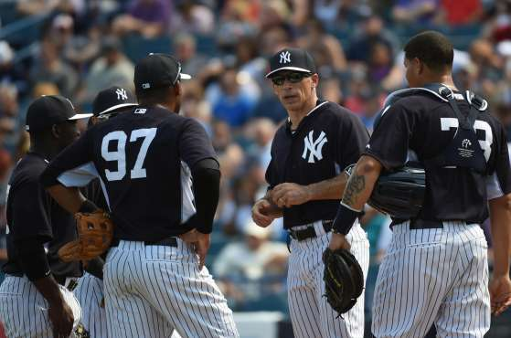 Spring Training game: Washington Nationals at New York Yankees
