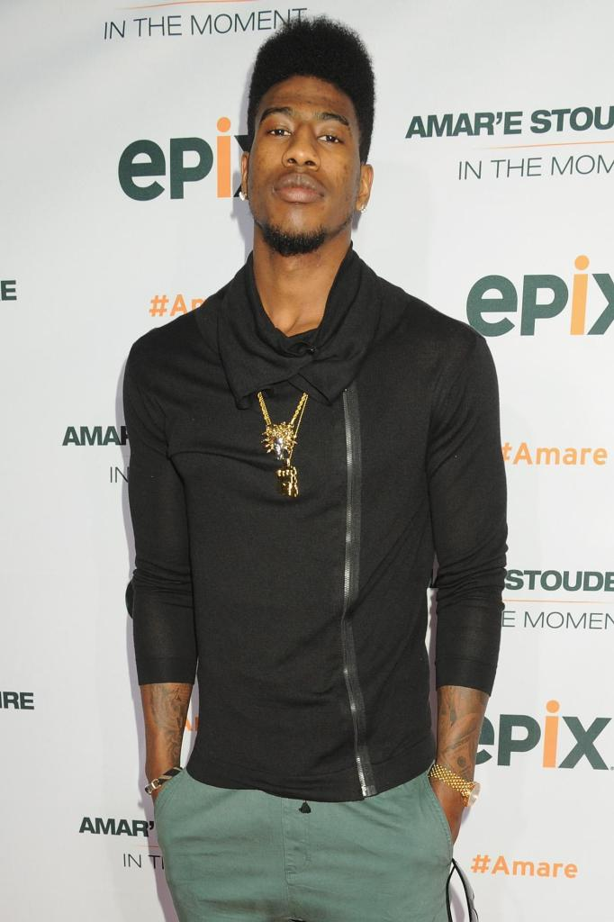 EPIX Premiere Of Amar'e Stoudemire IN THE MOMENT