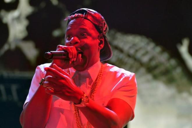 Jay Z in concert