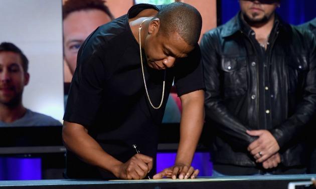 Jay Z At Tidal