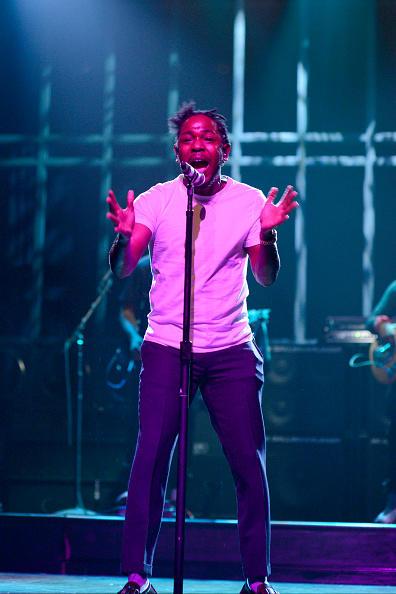 Kendrick Lamar on SNL